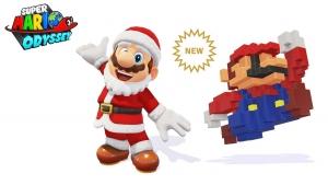 Mario Odyssey Pere Noel 8-bit