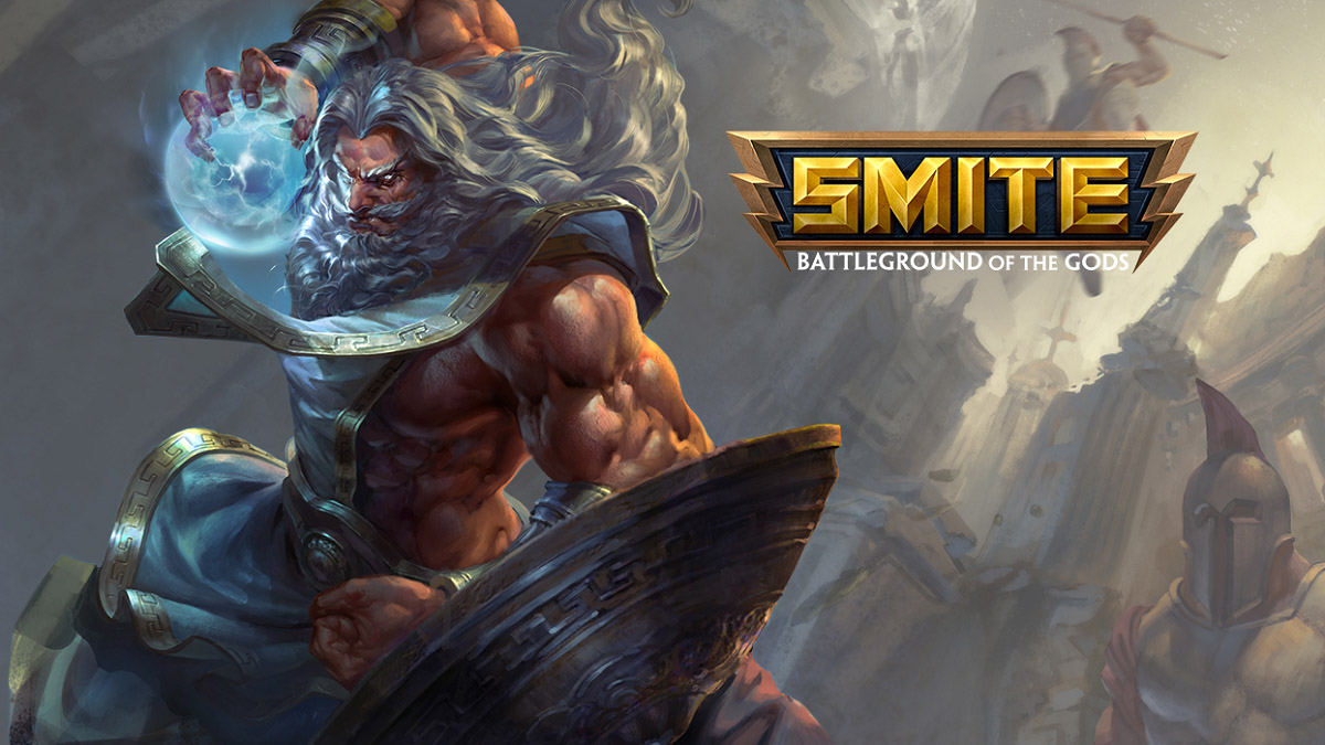 Smite Hi Rez Studio moba Illustration