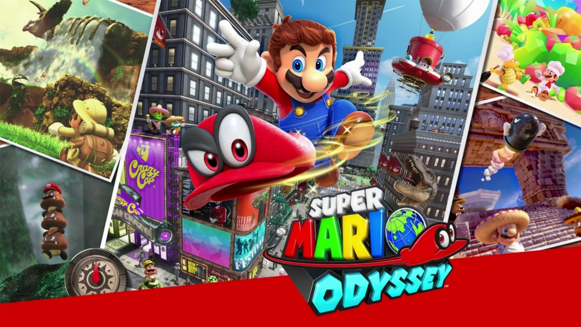Super Mario Odyssey 2017 Nintendo Switch