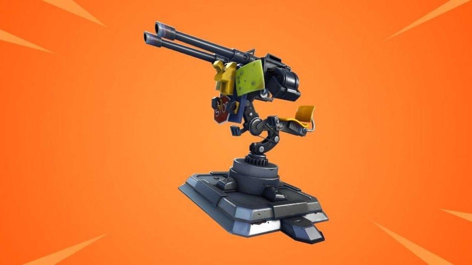 tourelle deployable de poche sortie sur fortnite battle royale