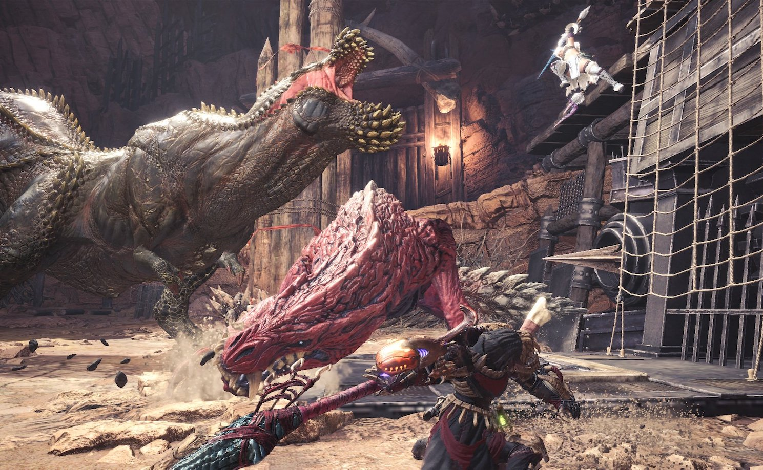 gameplay assassin's creed dans monster hunter world
