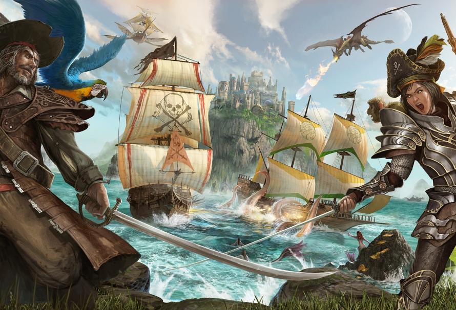 Atlas : Le nouveau MMO des créateurs d'ARK dévoilé