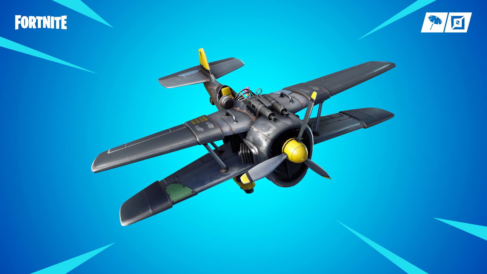Fortnite saison 7 avion