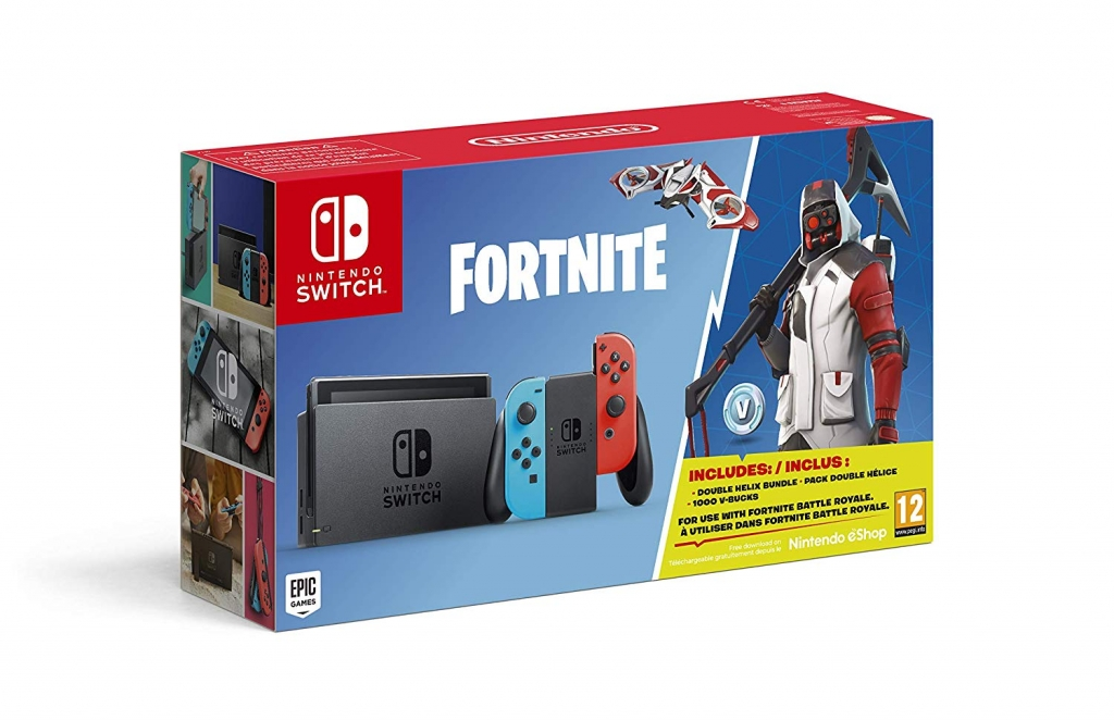 bundle fortnite sur nintendo switch