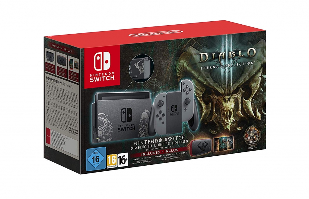limited edition diablo 3 bundle sur nintendo switch