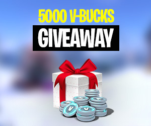giveaway fortnite vbuck