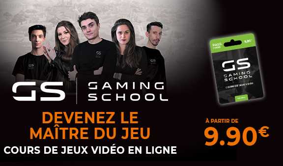 gaming school prix et inscription