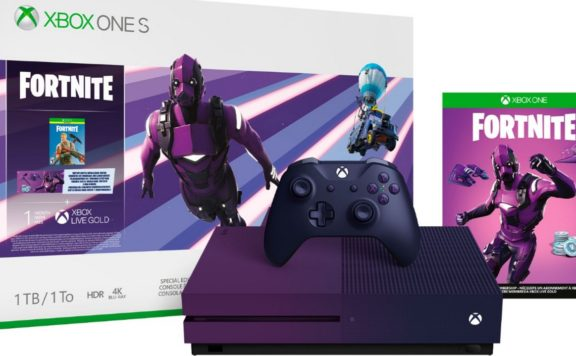xbox one édition limitée purple fortnite