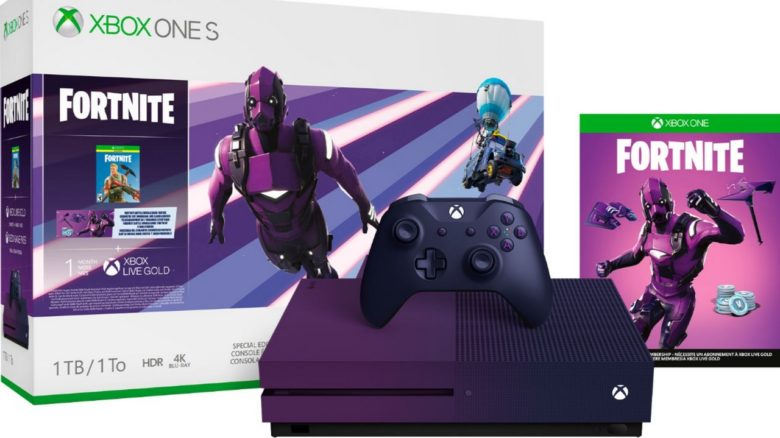xbox one édition limitée purple fortnite