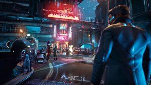 Gamedec gameplay cyberpunk