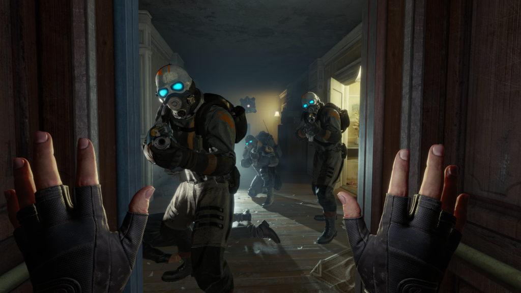 Half Life Alyx début du jeu