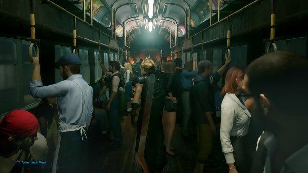 final fantasy 7 remake metro