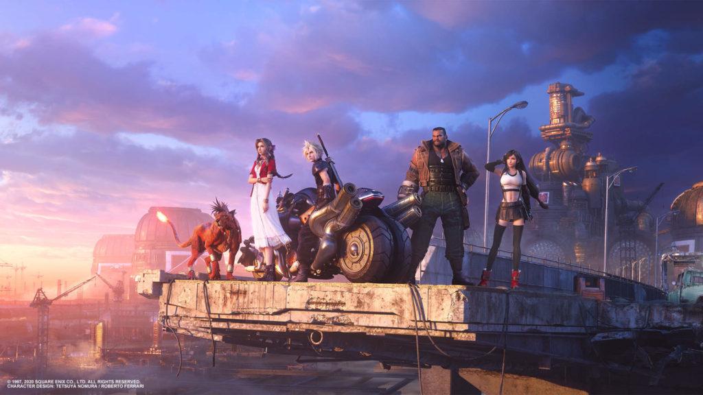 Final Fantasy 7 remake crew
