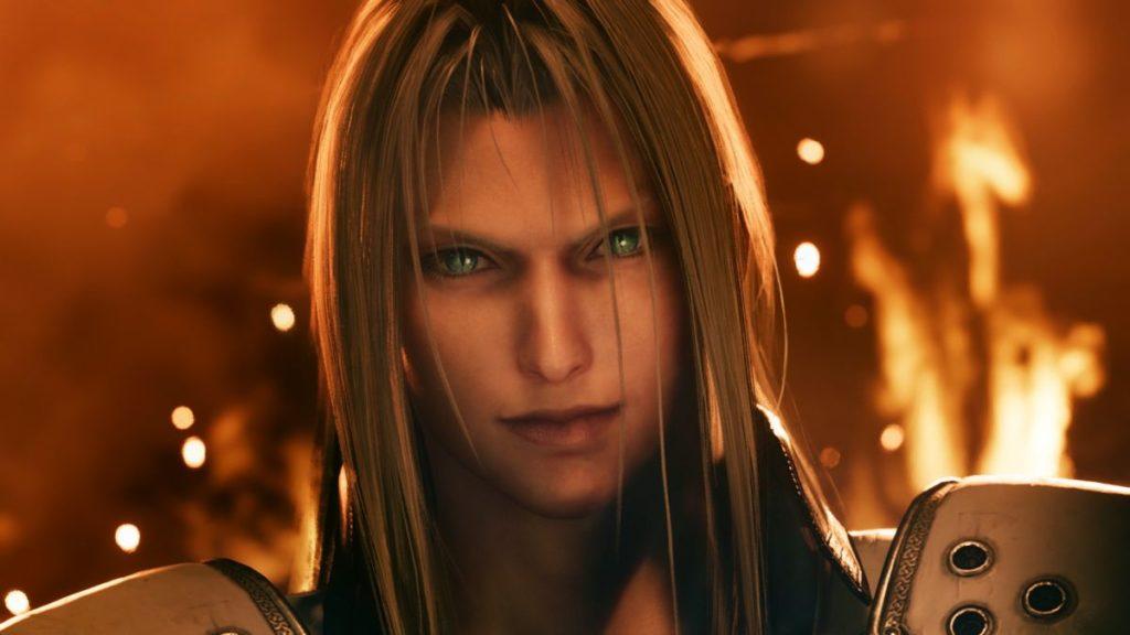 FF VII Remake Sephiroth