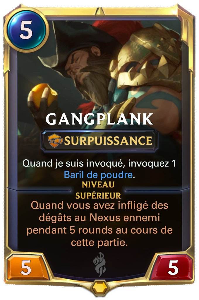 LOR Gangplank lvl 1
