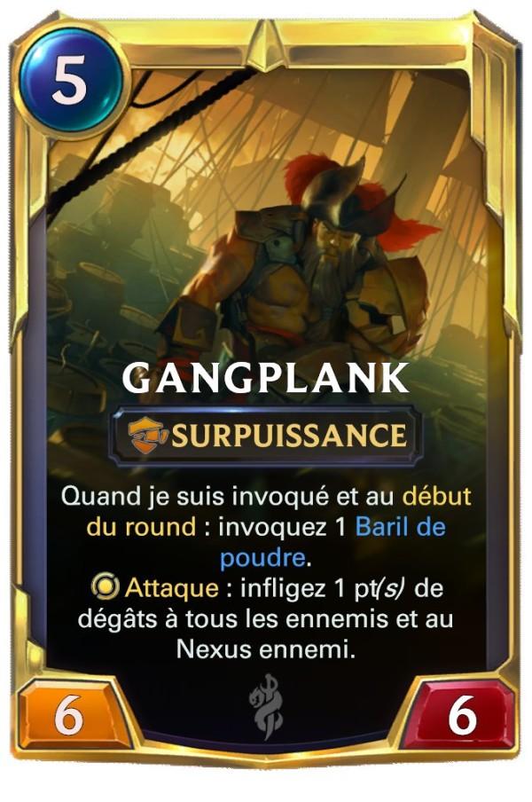 LOR Gangplank lvl 2