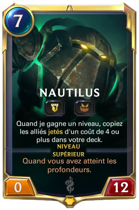 LOR Nautilus lvl 1