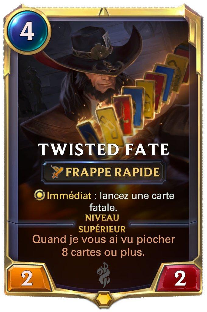 LOR Twisted Fate lvl 1