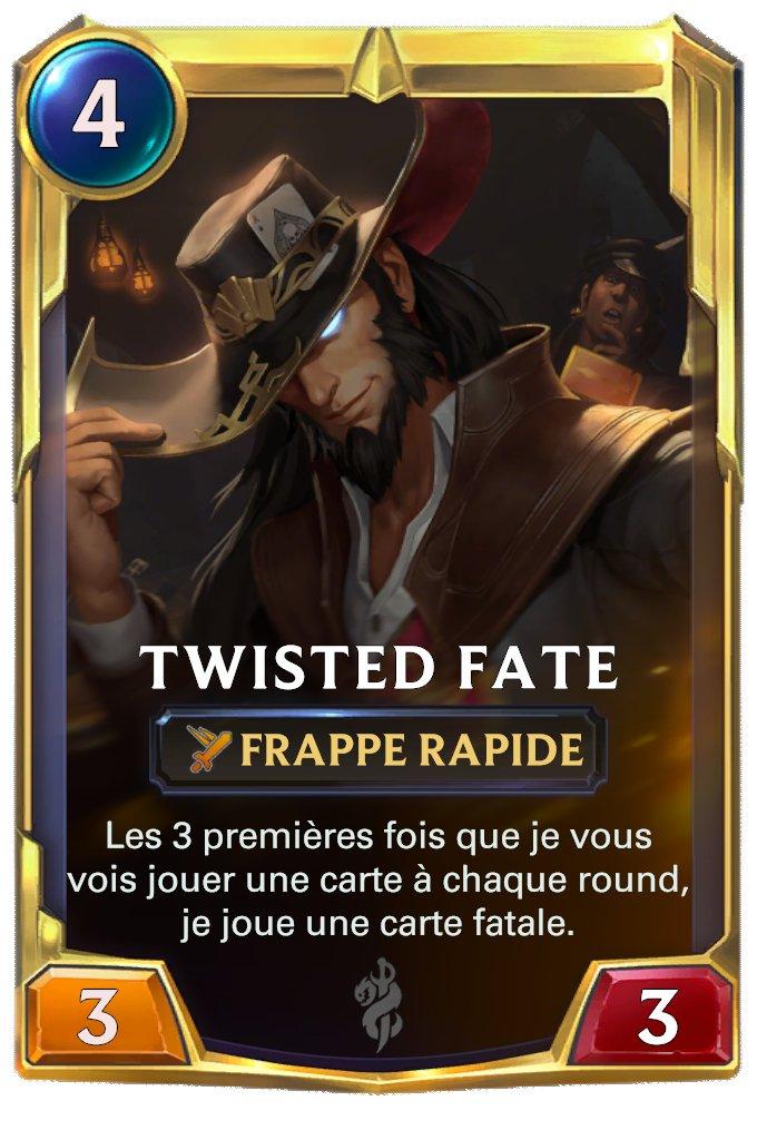 LOR Twisted Fate lvl 2