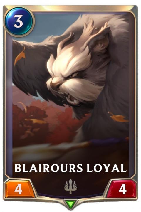 LOR blairours loyal