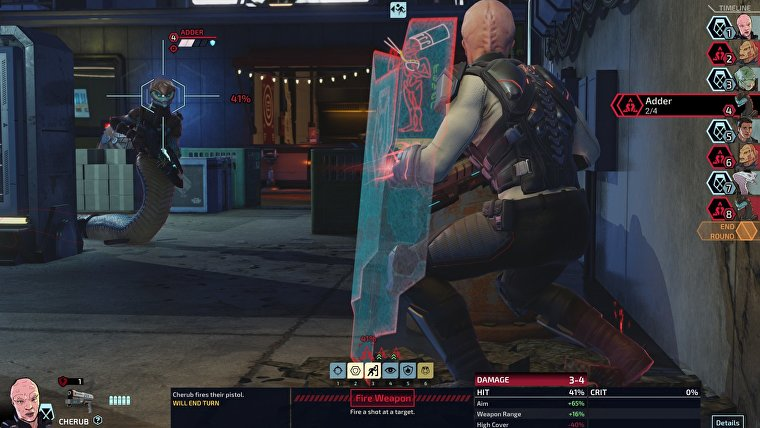 XCOM Chimera Squad Gameplay 4