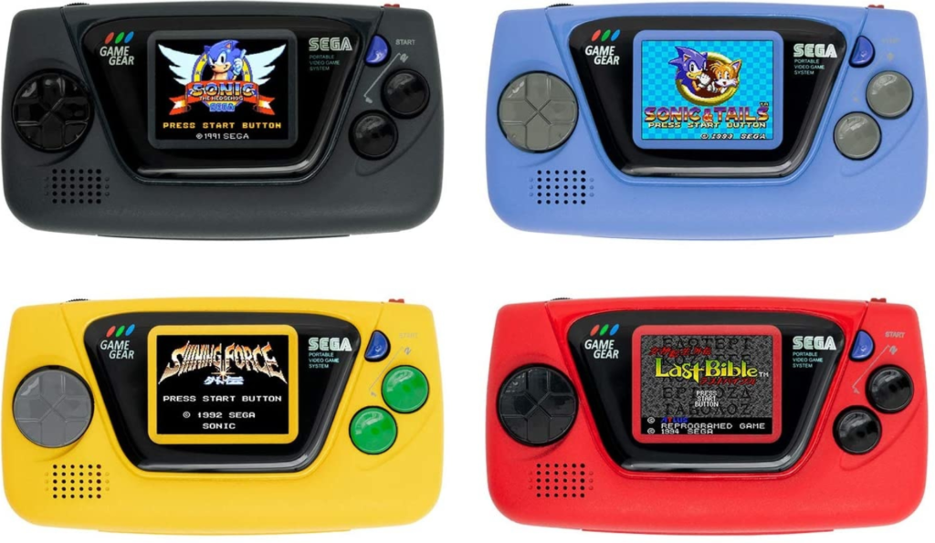 60 ans de SEGA game gear micro 2