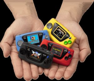 60 ans de SEGA game gear micro