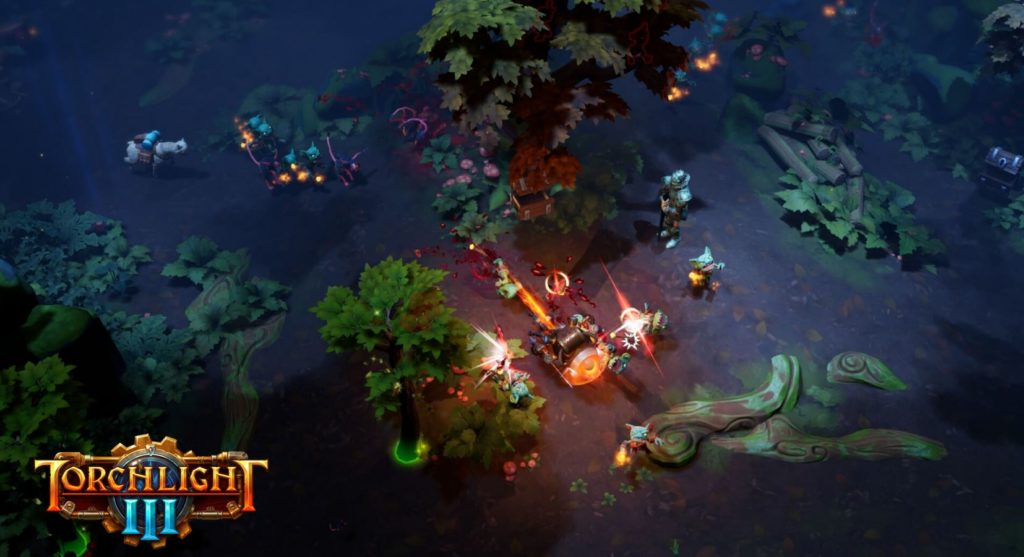 Torchlight III gameplay
