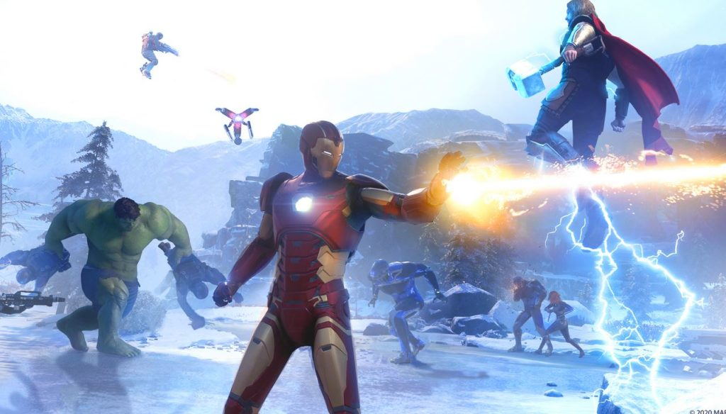 marvel's avengers gameplay 3