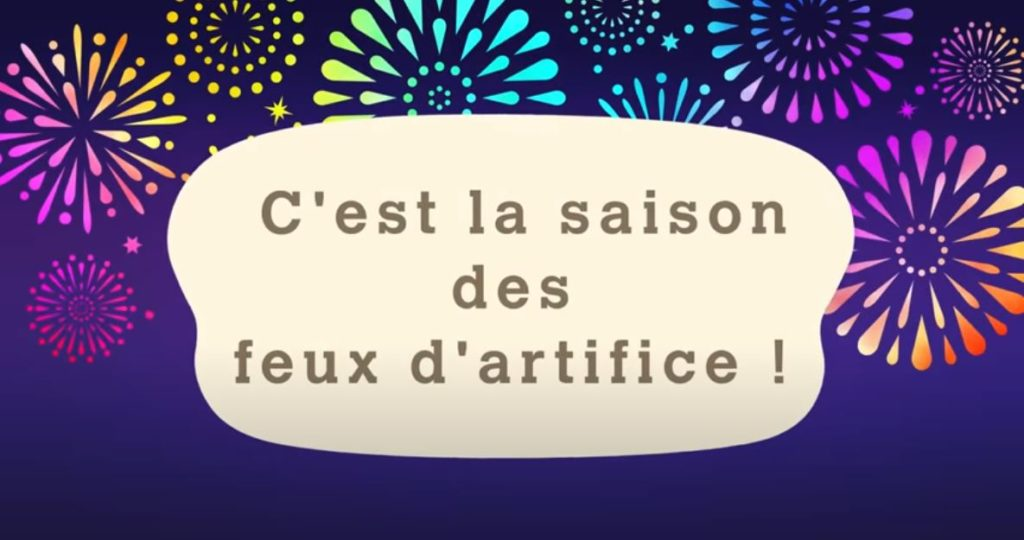 animal crossing new horizons feux d'artifice