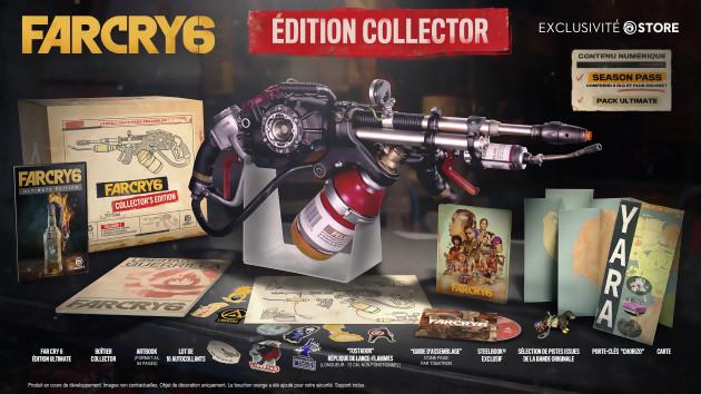 far cry 6 edition collector Ubisoft Forward