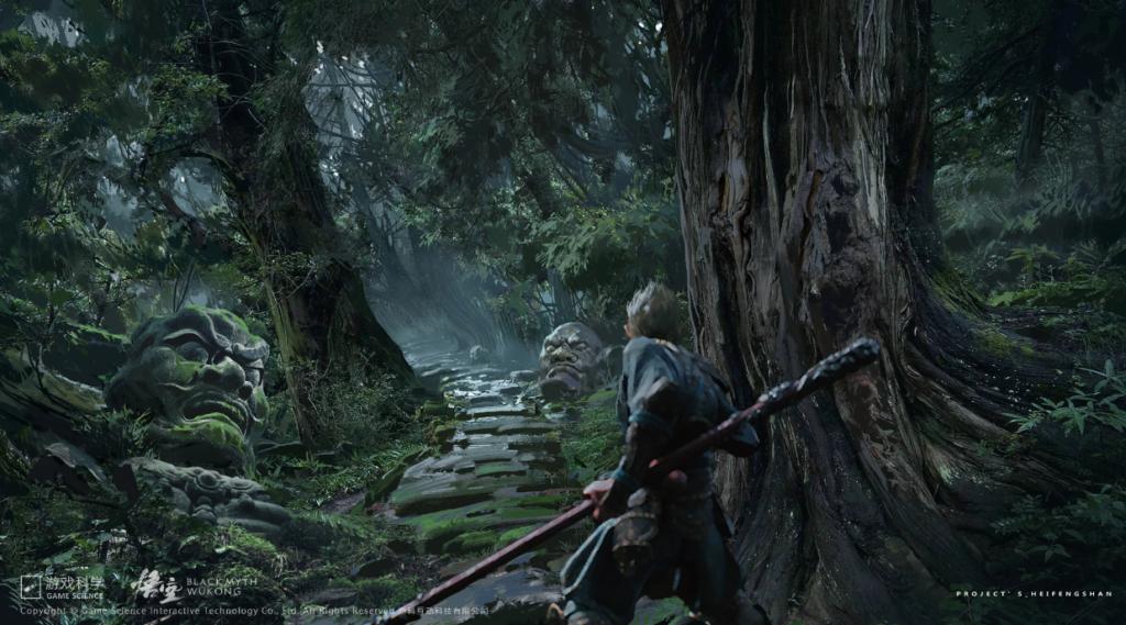 black myth wu kong gameplay