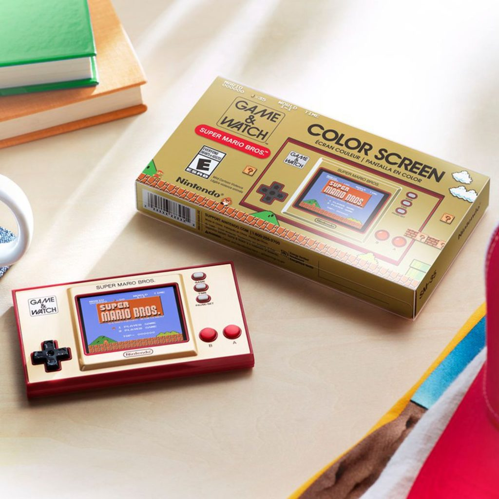 35 ans mario game & watch