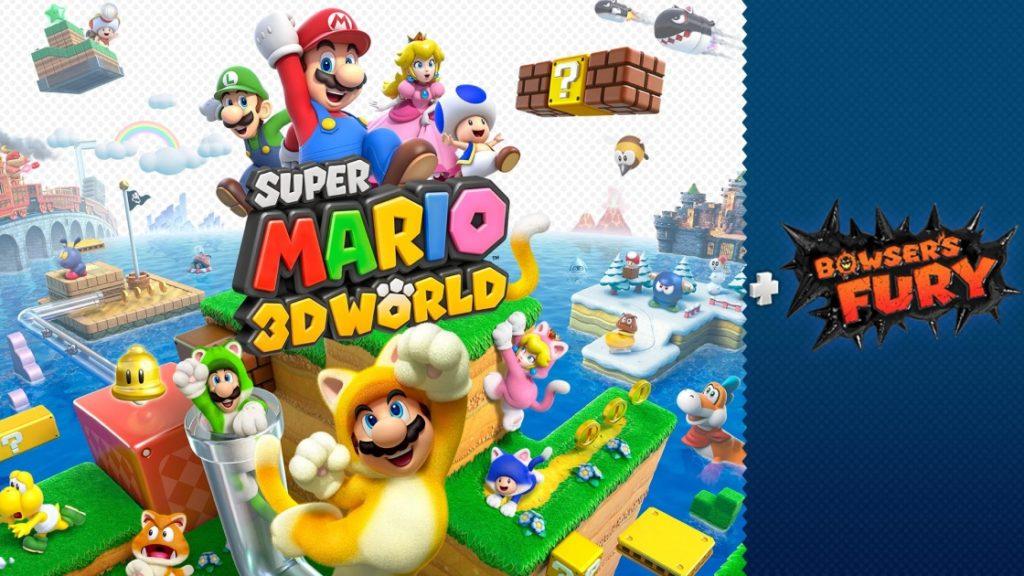 Super mario 3D world Bowser Fury