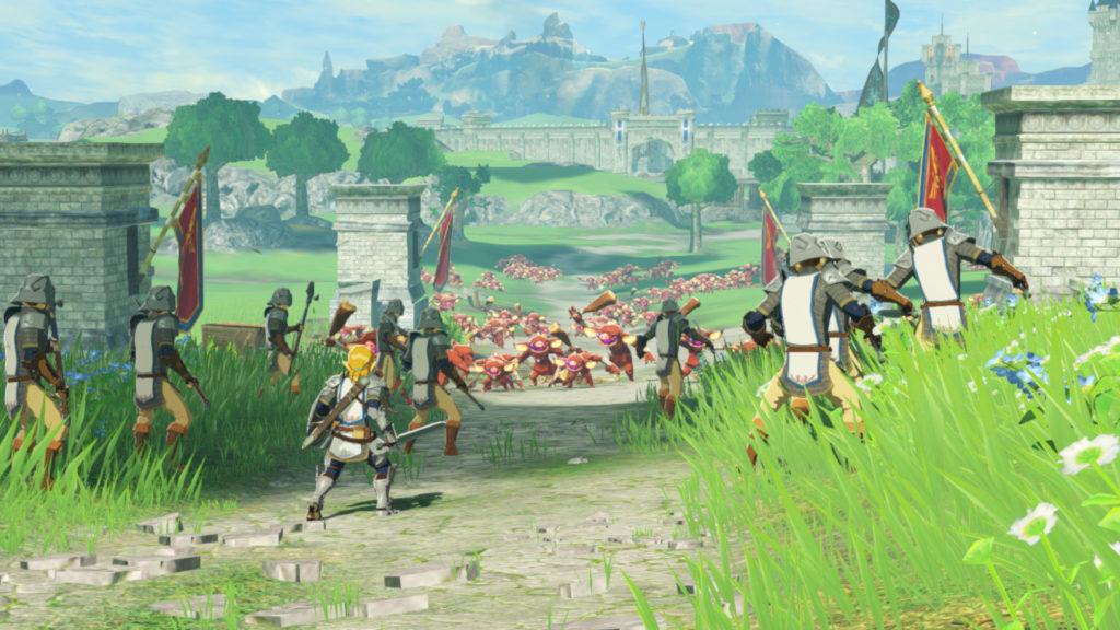 hyrule warriors ère du fléau gameplay